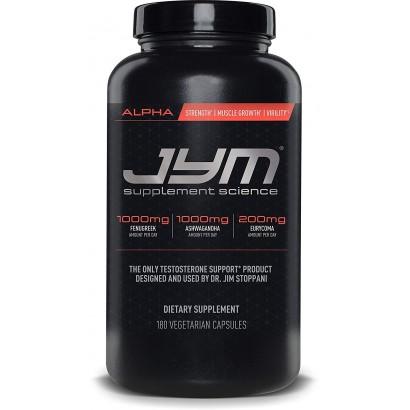 Alpha JYM , 180 Capsules