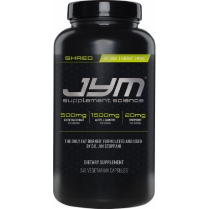 Shred JYM , 240 Vegetarian Capsules