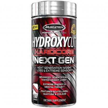 MuscleTech Hydroxycut Hardcore Next Gen, Guayusa & Coleus