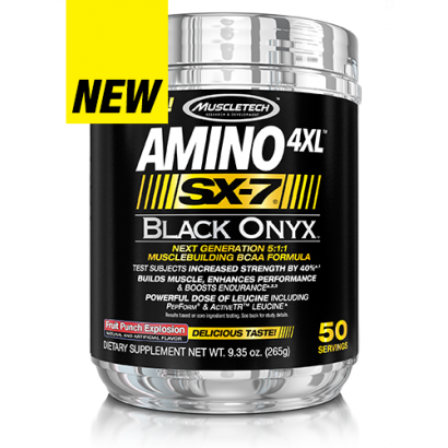 MuscleTech AMINO 4XL SX-7 BLACK ONYX
