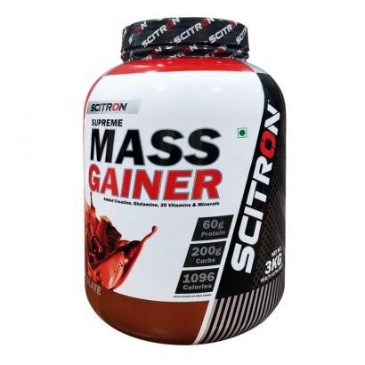 SCITRON SUPREME MASS GAINER 6.6 LBS