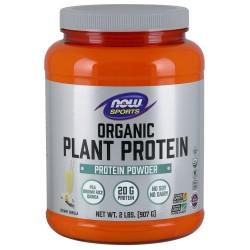 Now Organic Plant Protein Powder 2lbs
