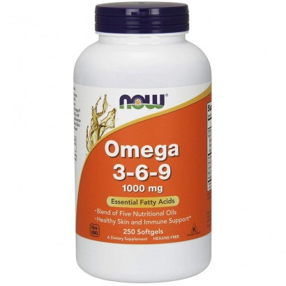 Now Foods OMEGA 3-9 1000MG