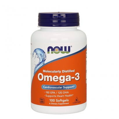 Now Foods OMEGA-3 1000mg- 100 SGELS