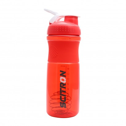 Scitron Plastic Blender Shaker Bottle with Stainless Blender Ball