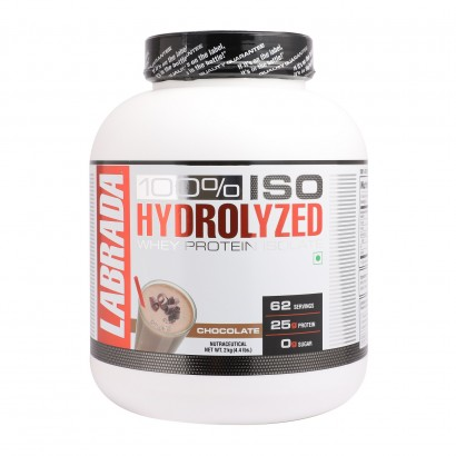 Labrada 100% Iso Hydrolyzed Whey Protein Isolate