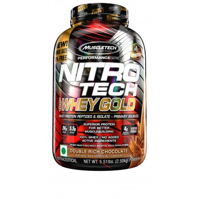 Muscletech Nitro-Tech Performance Series 100% Whey Gold