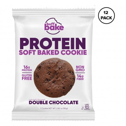 Buff Bake Protein Cookie - 80 g, Pack of 12