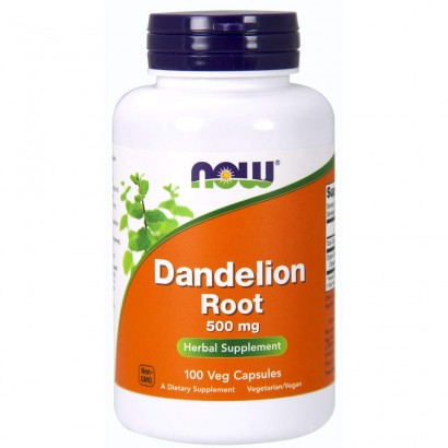Now Dandelion Root 500mg - 100 Veg Caps