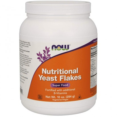 Now Nutritional Yeast Flakes - 284 g
