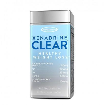 Muscletech Xenadrine Clear - 120 Veggie Capsules
