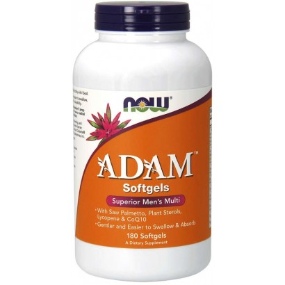 NOW ADAM MEN'S MULTIPLE VITAMIN, 180 Softgels
