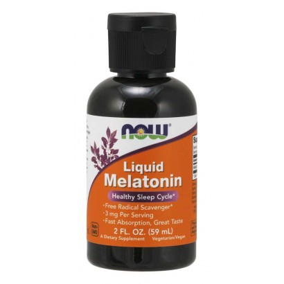 NOW Foods Liquid Melatonin 2 FL Oz