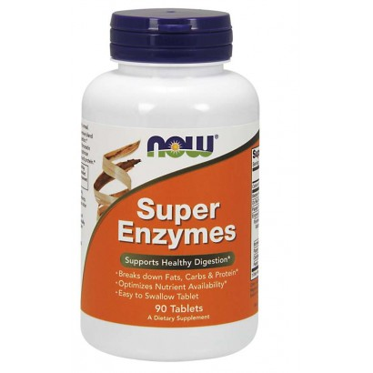NOW Foods SUPER ENZYME 90 TABS