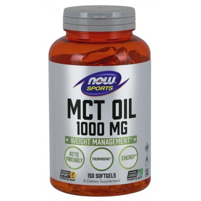 NOW Foods MCT Oil 1000 mg-150 SGELS