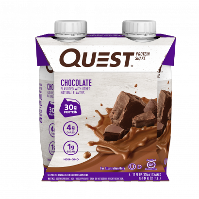 Quest Ready To Drink Protein Shake - Chocolate