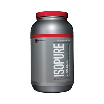 Nature's Best® Perfect® Zero Carb Isopure™ - Strawberry 3 lb(s).