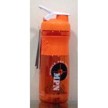 MPN, SportMixer Blender Bottle, Orange/White, 28 oz Bottle