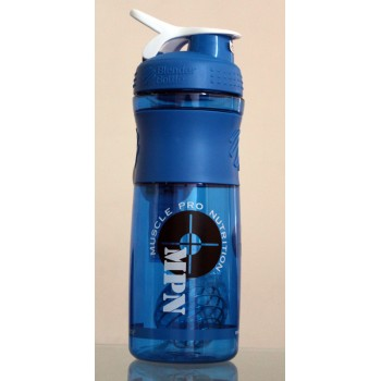 MPN, SportMixer Blender Bottle, Blue/White, 28 oz Bottle
