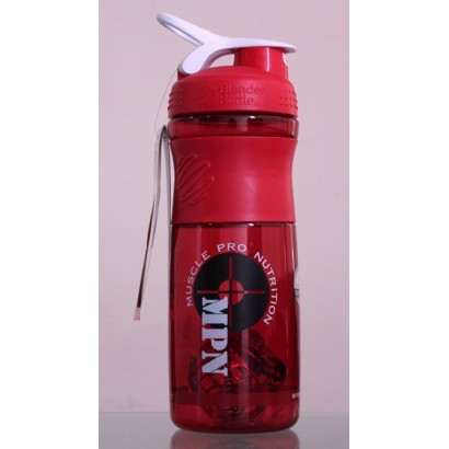 MPN, SportMixer Blender Bottle, Red/White, 28 oz Bottle