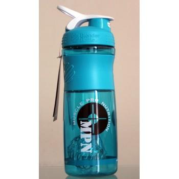 MPN, SportMixer Blender Bottle, Sea Blue/White, 28 oz Bottle