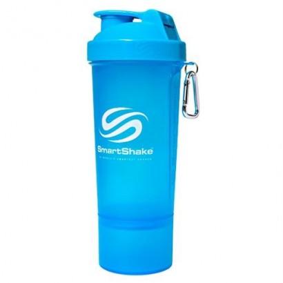 SmartShake: Slim Shaker Neon Blue