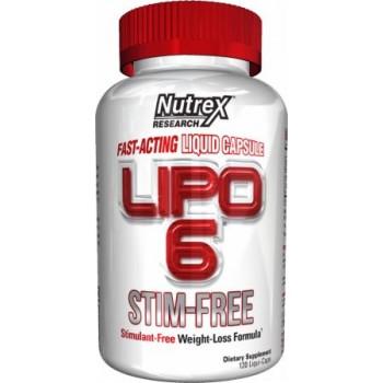 Nutrex: Lipo-6 STIM-FREE
