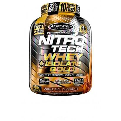MuscleTech NITRO-TECH Whey Plus Isolate Gold