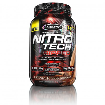 MuscleTech NITRO-TECH Ripped, 2 lbs