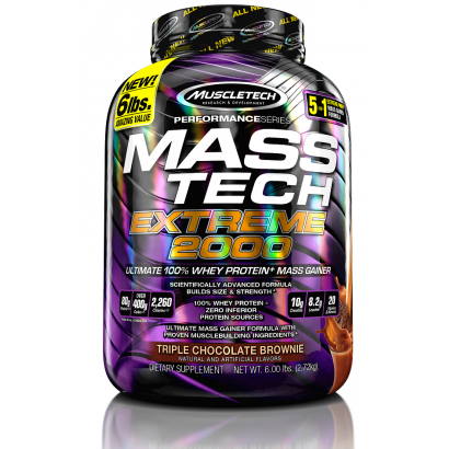 MuscleTech Mass-Tech Extreme 2000, 6lbs