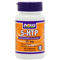 NOW 5-HTP Caps 50mg