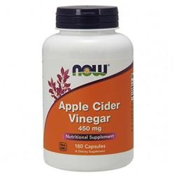 NOW Apple Cider Vinegar, 180 Capsules