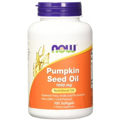 Now Pumpkin Seed Oil 100 softgels
