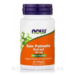 Now Saw Palmetto 160mg 60 SGELS