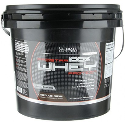 Ultimate Nutrition ProStar 100% Whey Protein, 10 lbs