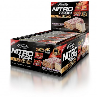 MuscleTech NITRO-TECH Crunch Bar