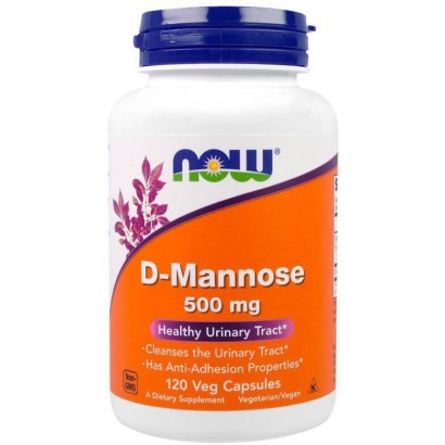Now D-Mannose, 500 mg