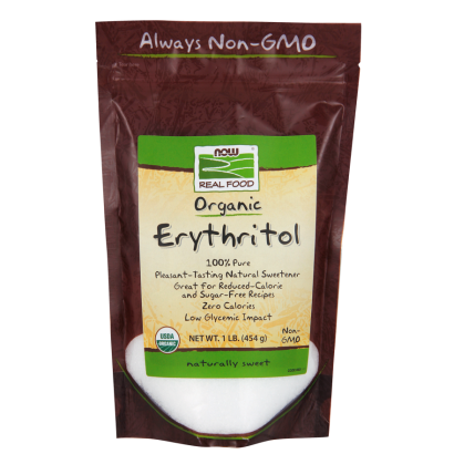 Now Organic Erythritol 1lb