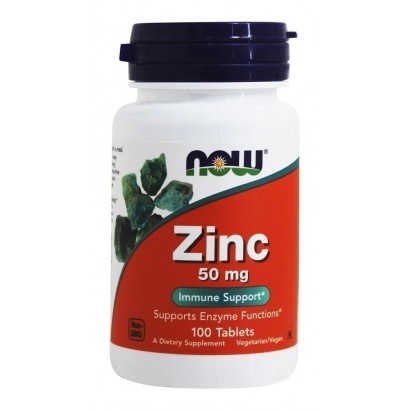 NOW ZINC GLUCONATE 50 MG 100 TABS