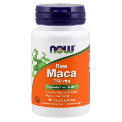 NOW RAW MACA, 30 VCAPS