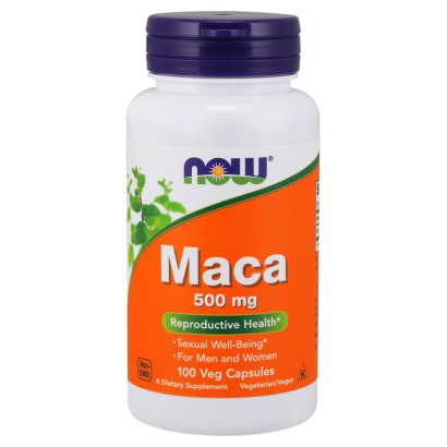 NOW MACA 500mg 100 Vcaps