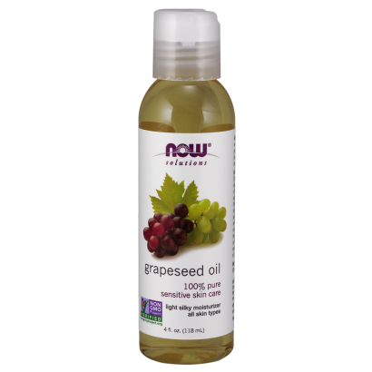 Now Grapeseed Oil - 4 fl Oz