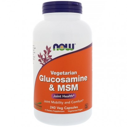 Now Vegetarian Glucosamine & MSM, 240 VCAPS