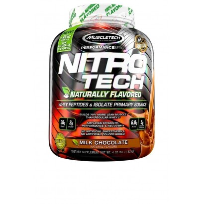 Muscletech Nitrotech- Naturally flavored