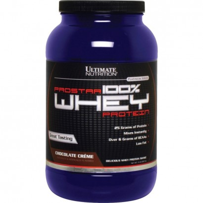 Ultimate Nutrition ProStar 100% Whey Protein, 2 lbs